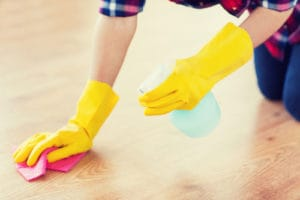 Ošetření polymerových podlah