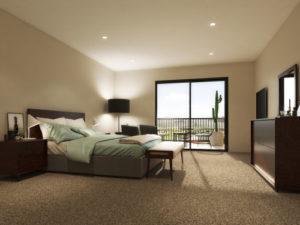 Ako sa starať o svetlý koberec