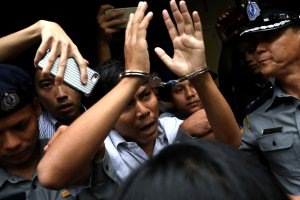 Myanmar Sentences Two Reuters Reporters to Seven Years in Prison for Possessing 'Official Secrets'