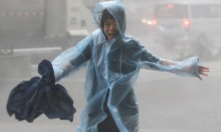 Here's What It Looked Like When the Biggest Storm of 2018 Tore Across the Philippines and South China