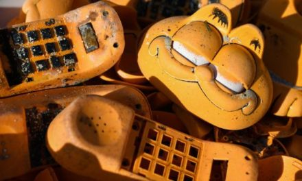 The Mysterious Case of Garfield Phones Washing Up on French Beaches Since the '80s Has Been Solved
