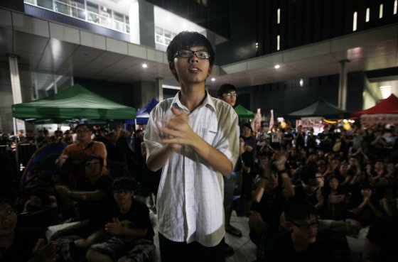 A Brief History of Protest in Post-Handover Hong Kong